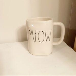 Meow Rae Dunn Mug NEW Cat Lady